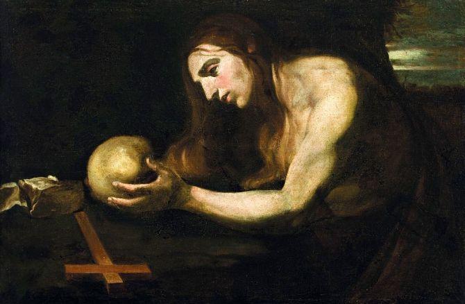 Madeleine Penitent Magdalene Wignacourt Mus Malta1